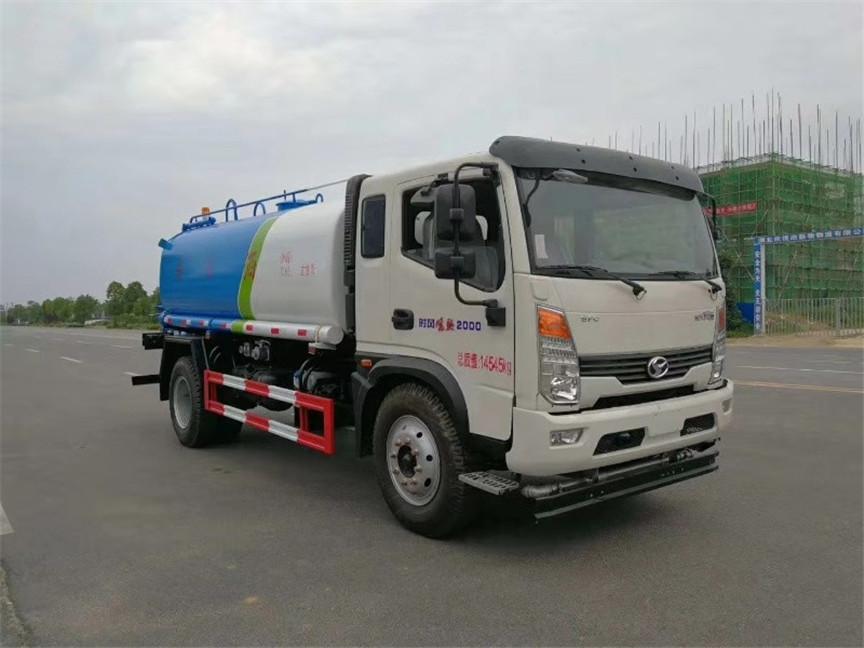 8.5噸時風灑水車工地用灑水車道路綠化噴灑車