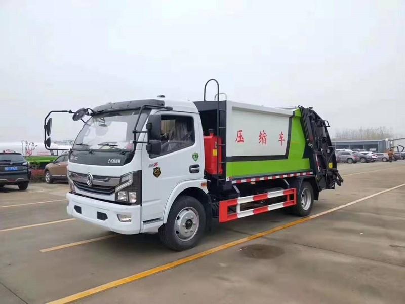8立方小型垃圾-環衛保潔清運車價格最低