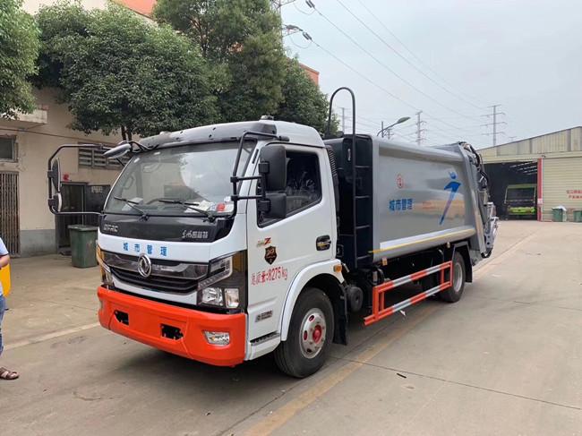 程力專汽-東風凱普特壓縮垃圾車廠家直銷