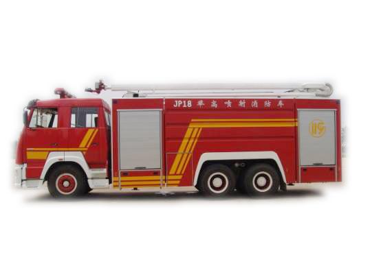 18米举高喷射消防车