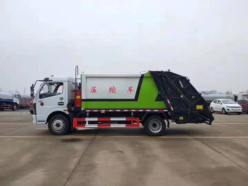 8立方压缩垃圾车-东风大多利卡厂家直销