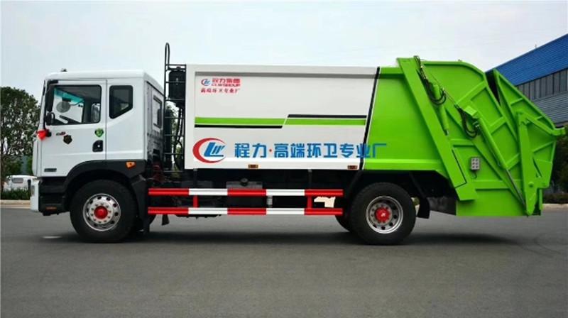 10立方垃圾車-東風D9多利卡3950軸距什么價
