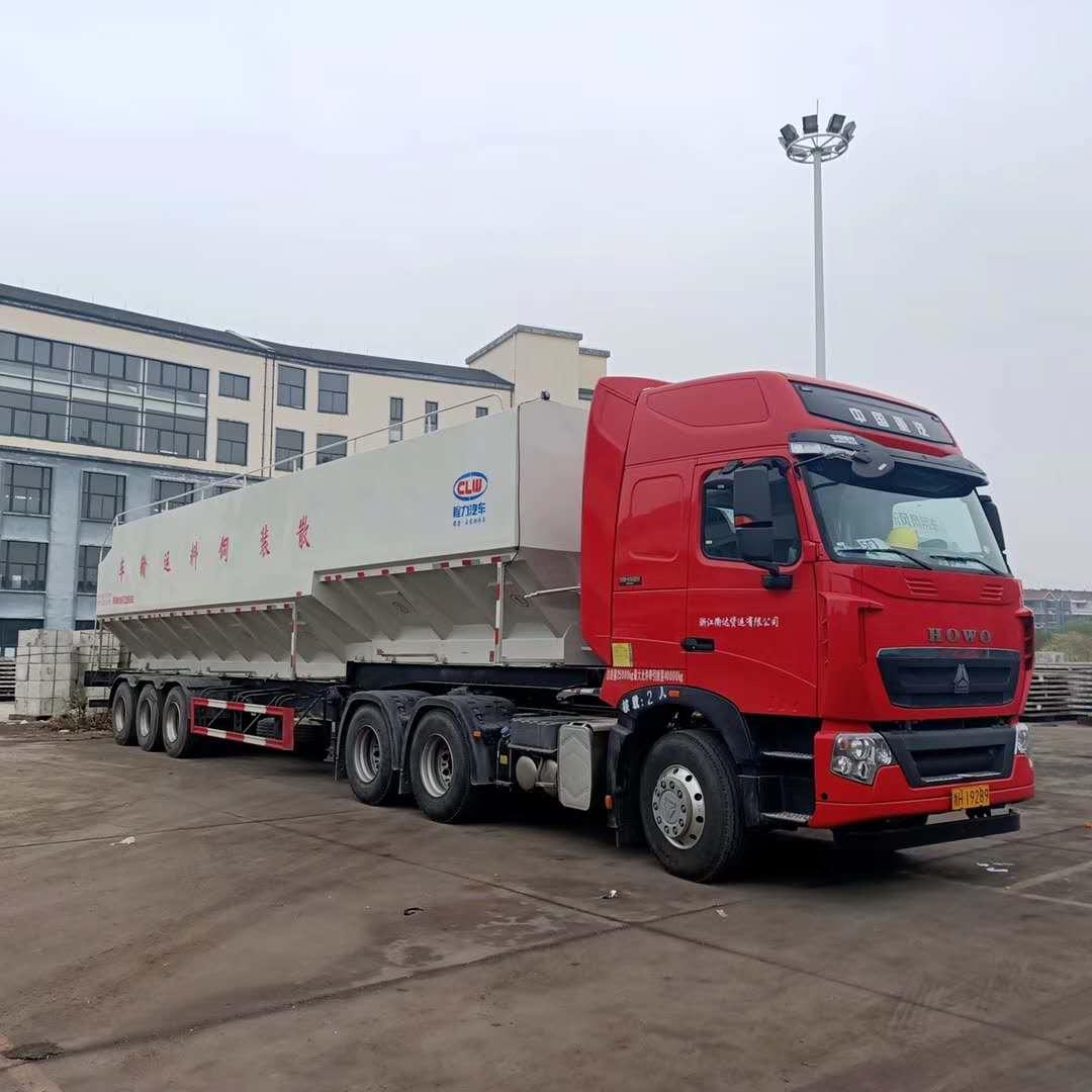 35吨半挂饲料运输车图片专汽详情页图片