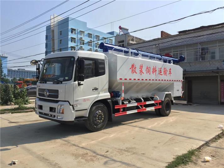 东风天锦20方(10吨)散装饲料车