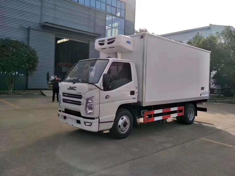 (国六)江铃顺达4.2米冷藏车图片