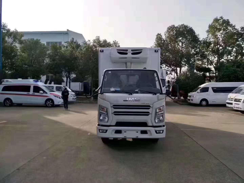 国六江铃顺达冷藏车年底大促销图片