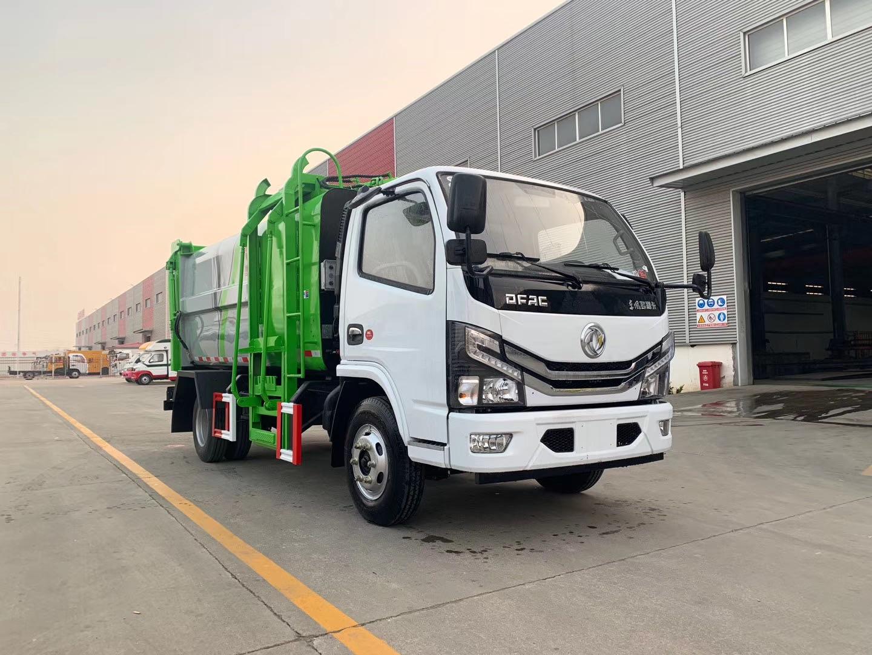 多利卡國六藍牌側裝壓縮垃圾車配置