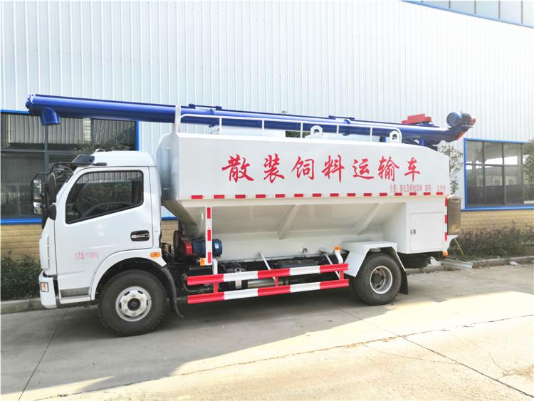 東風多利卡12方(6噸)散裝飼料運輸車