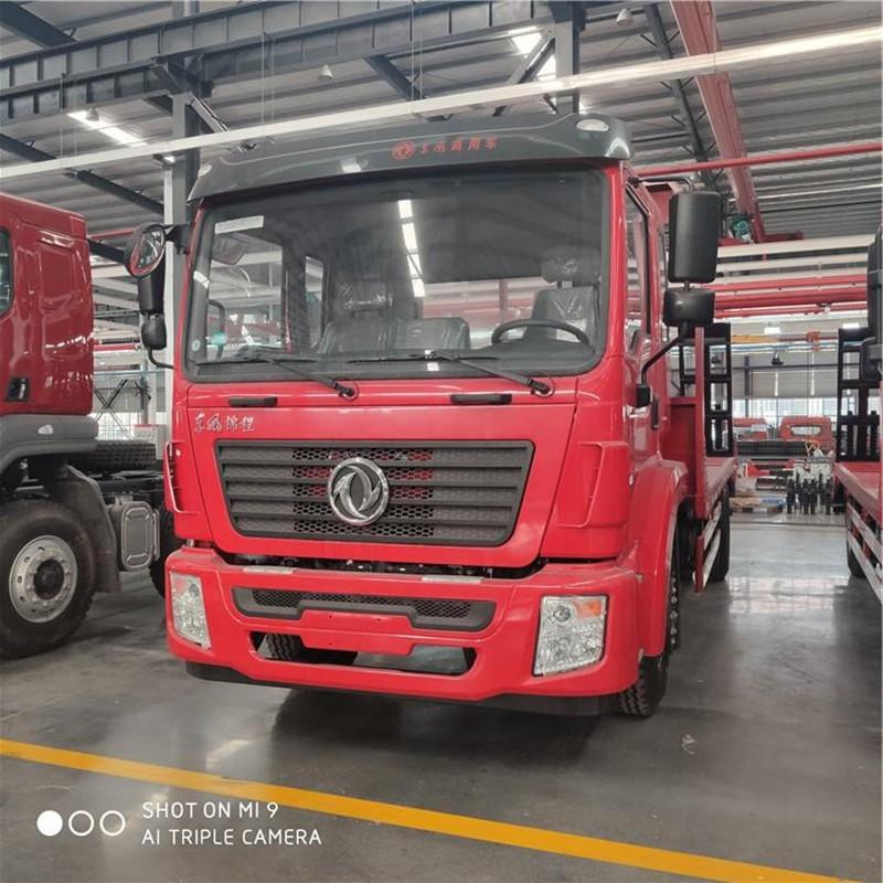 拉挖机平板车15-20吨东风品牌高端配置什么价