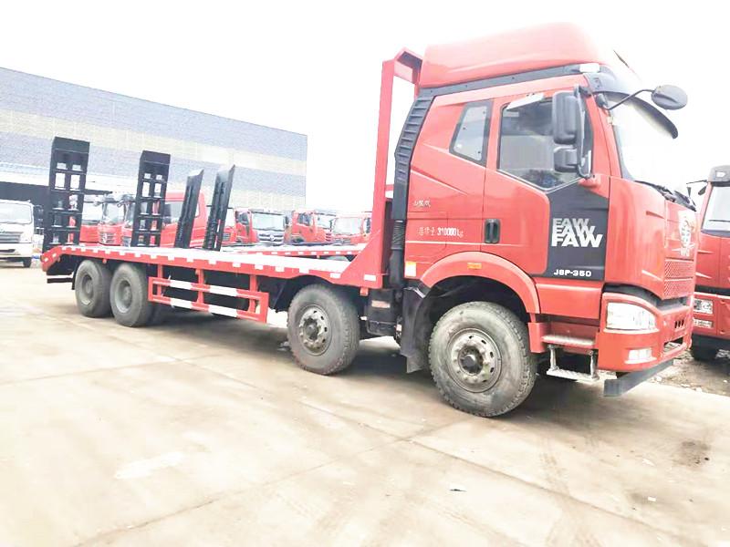 山區最理想的大挖機平板拖車  一汽解放J6P-350山區版