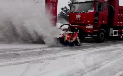 掃雪車視頻 這速度