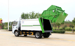 國六8立方三角斗垃圾車
