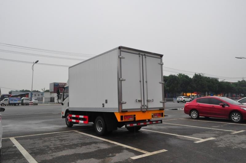 黑龙江医疗垃圾车 大庆市医院垃圾收集车 福田医用垃圾车(图2)