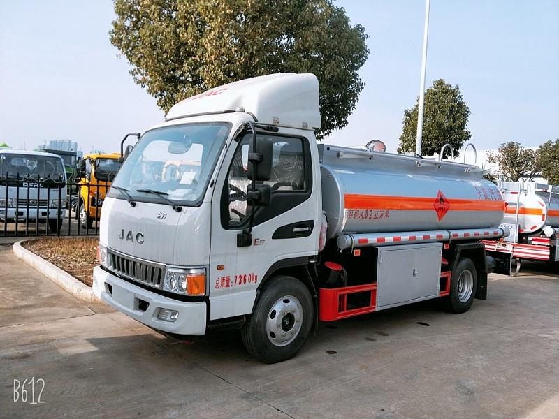 江淮駿鈴5噸加油車參數 4.82方油罐車報價 廠家直銷圖片圖片專汽詳情頁圖片