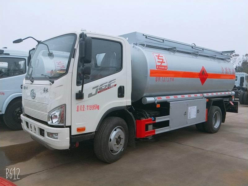 工地8噸流動加油車 解放J6F 10方油罐車包上牌價格圖片專汽詳情頁圖片