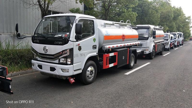 國六5噸油罐車介質柴油4.35方加油車 廠家報價圖片圖片專汽詳情頁圖片