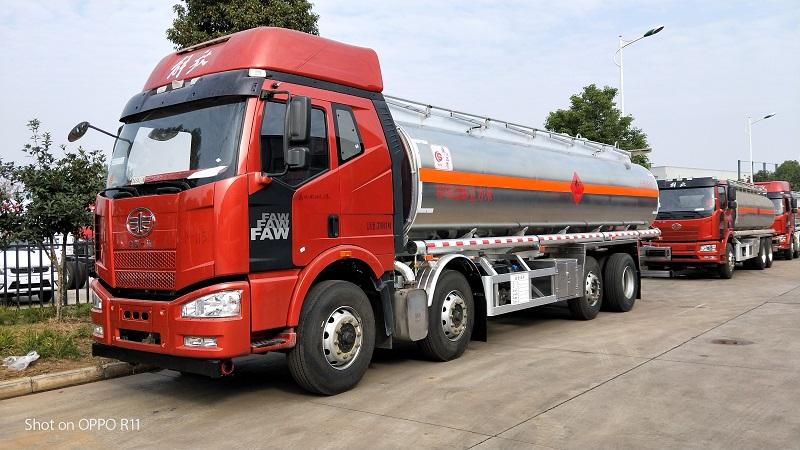 國五解放J6前四后六25.5方鋁合金運油車配置圖片專汽詳情頁圖片