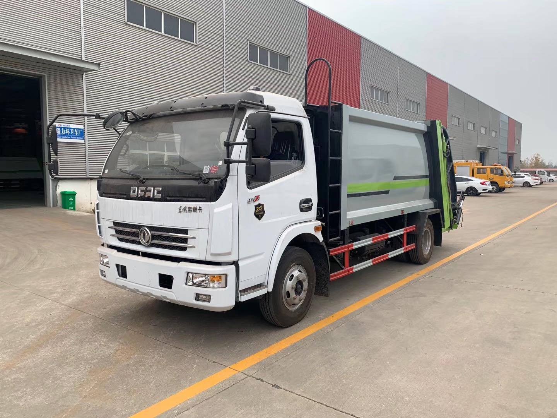 國五8方東風多利卡壓縮垃圾車配置圖片