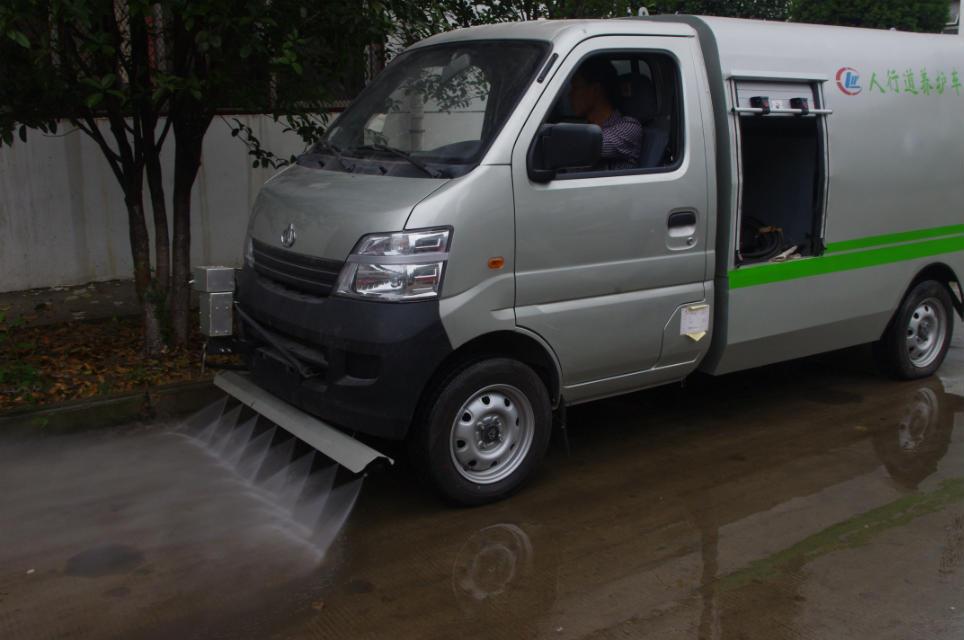 长安路面清洗车视频