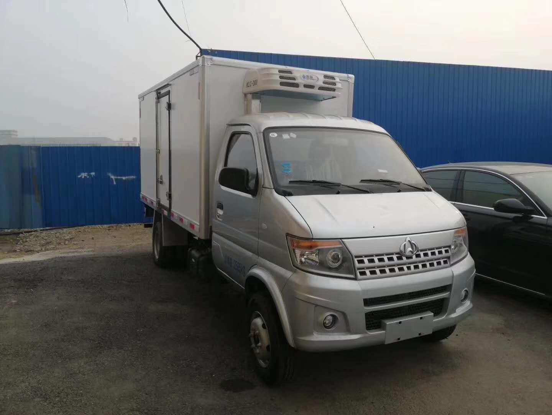 (国六)长安(3.3米)后双轮小型冷藏车