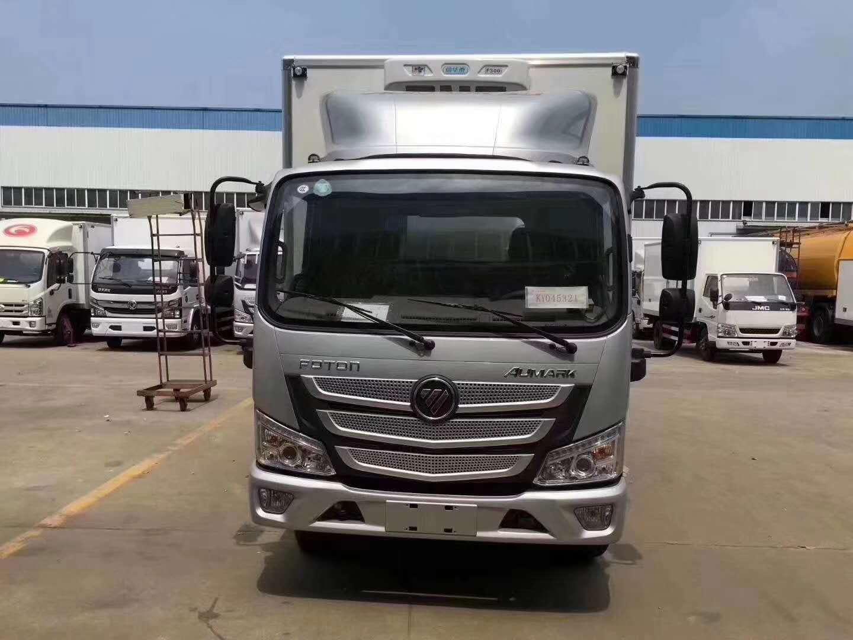 福田欧马可新款S3国六冷藏车图片