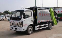 国六大多利卡垃圾车--8立方垃圾车