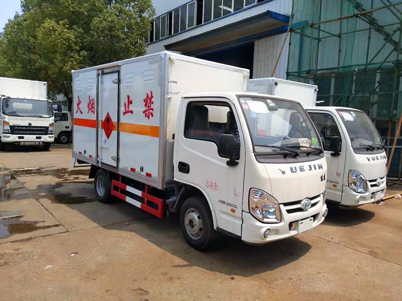 国六跃进小福星汽油3.3米易燃气体运输车报价