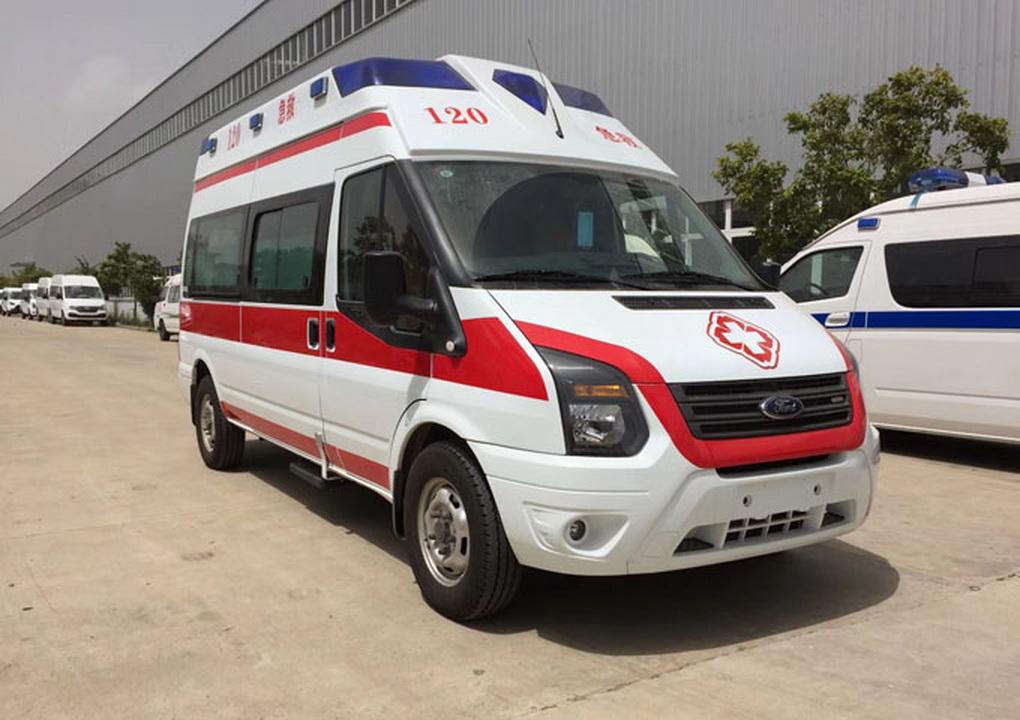福特新世代V348負壓救護車