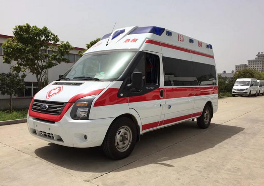 福特新世代V348负压救护车图片