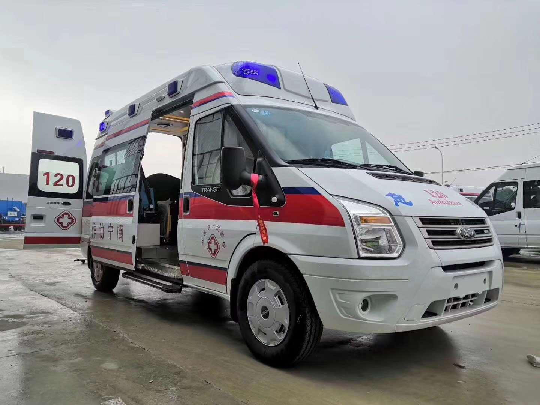 福特负压型救护车厂家直销
