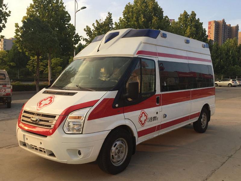 福特新世代V348负压救护车
