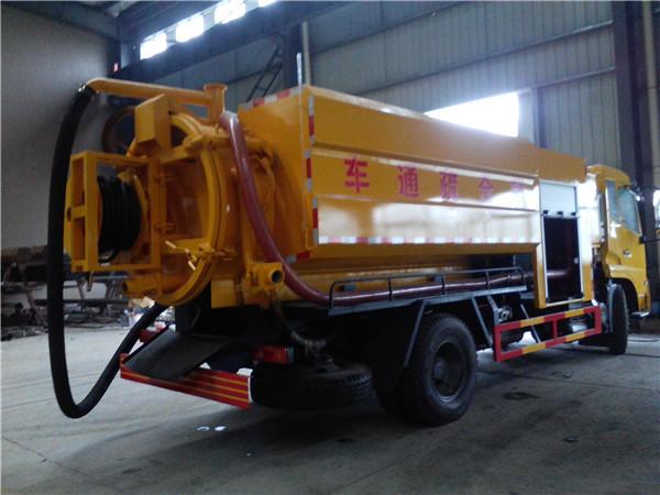 广西贺州有卖东风天锦的管道疏通车