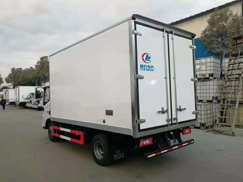 國國六福田歐馬可s1冷藏車。圖片