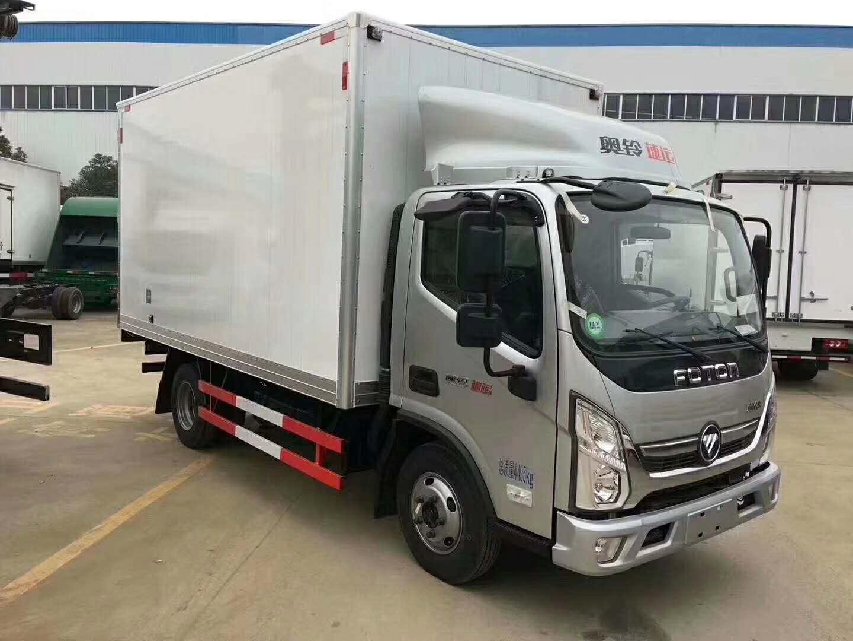 国六福田奥铃速运4米2冷藏车