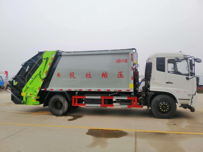 東風天錦14方壓縮垃圾車圖片