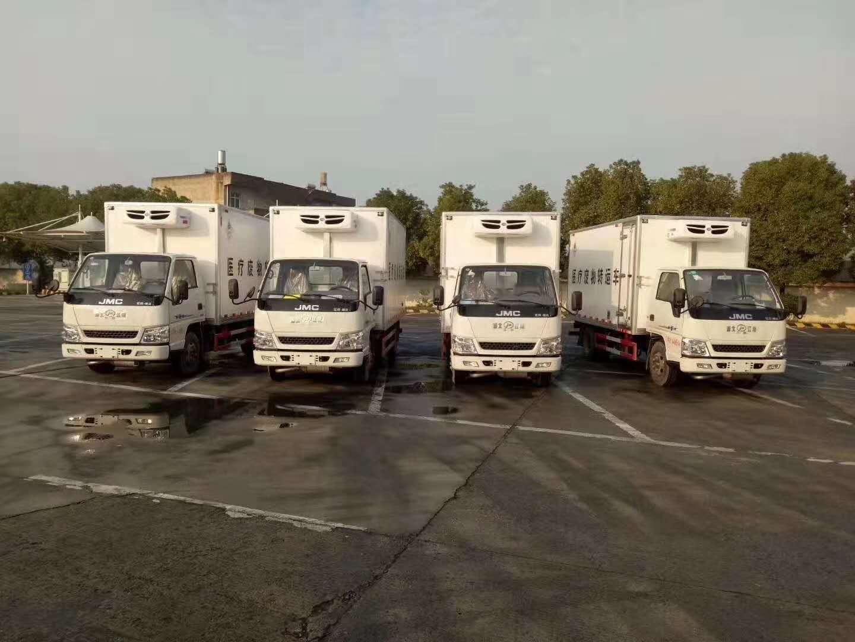 4.2米蓝牌江铃医疗废物运输车生产厂家