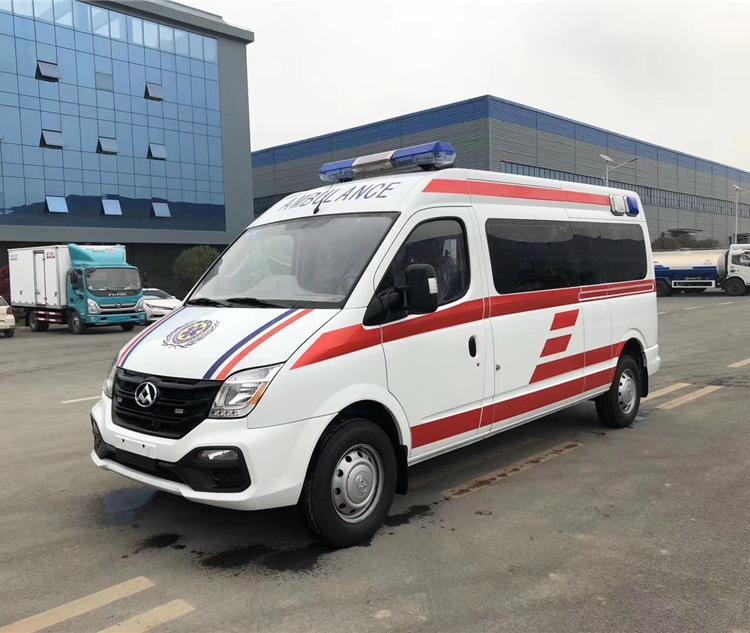 上汽大通V80长轴救护车(国6)
