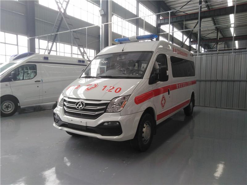 上汽大通V80短轴救护车(国6)
