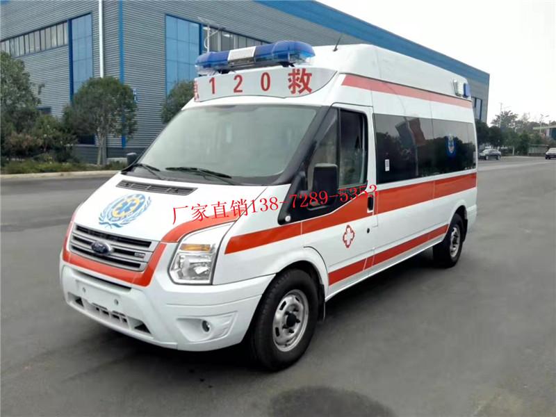 新世代监护型负压救护车V348(国六)