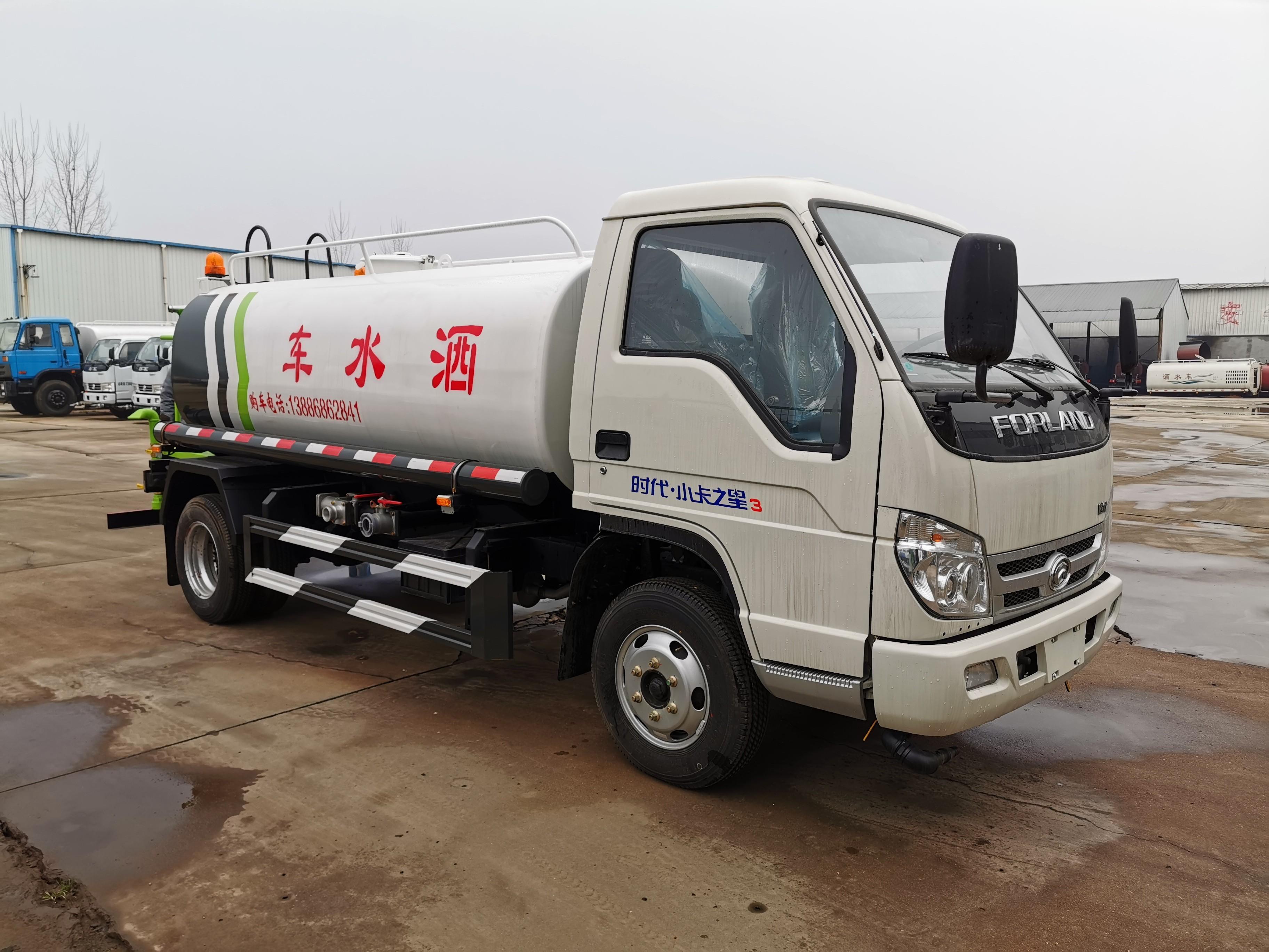 福田5噸灑水車圖片