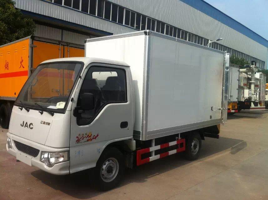 蓝牌江淮3.1米冷藏车参数配置,厂家报价