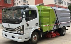 国六东风多利卡扫路车参数图片