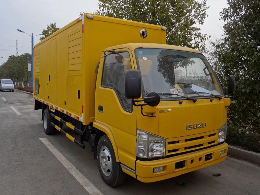 五十鈴50-100KW電源應急車