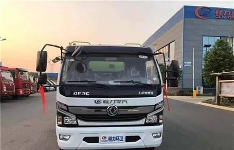 东风D7国六清洗吸污车配置,多少钱一辆