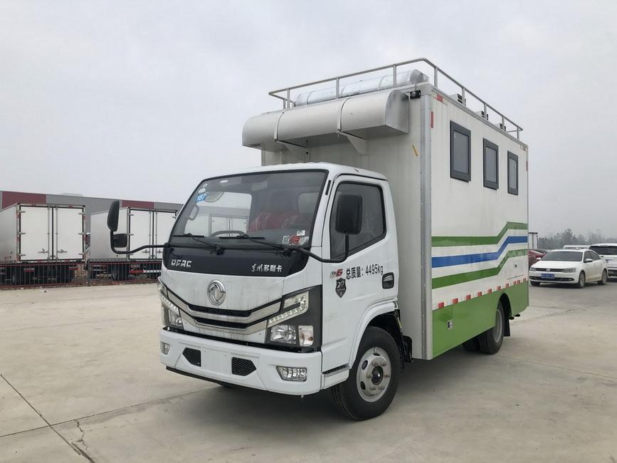 东风4.2m多利卡餐车(国六)