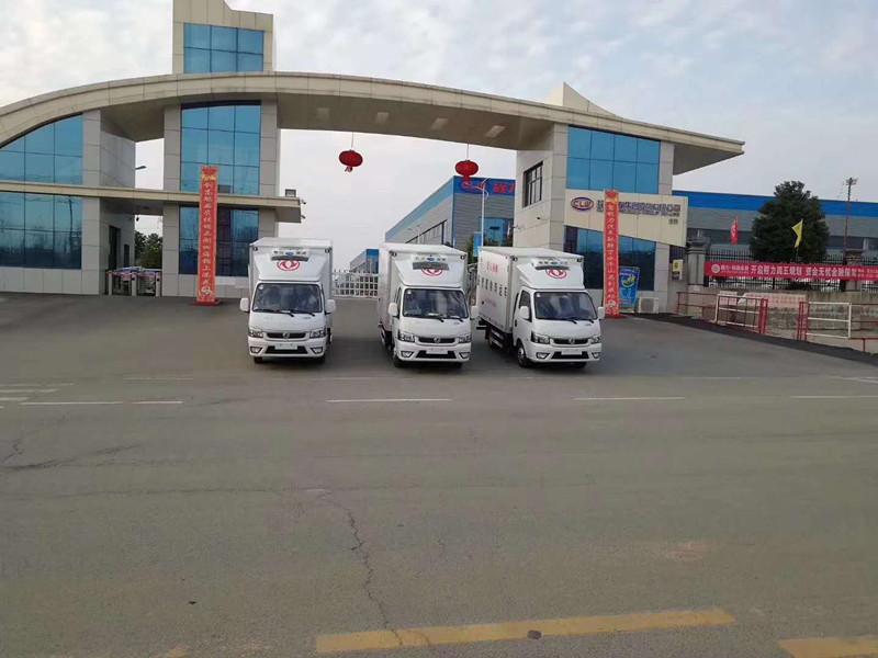 東風醫療廢物轉運車圖片