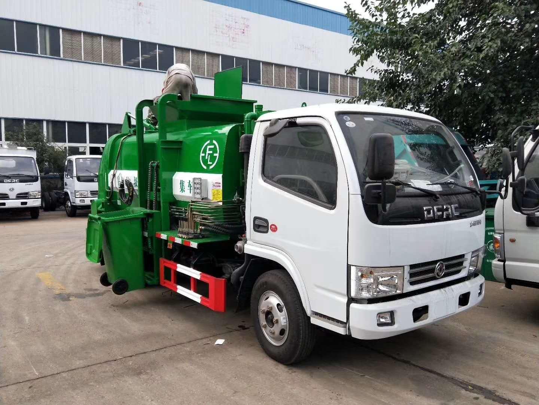 2020新款蓝牌东风小多利卡餐厨拉圾车厂家直销图片