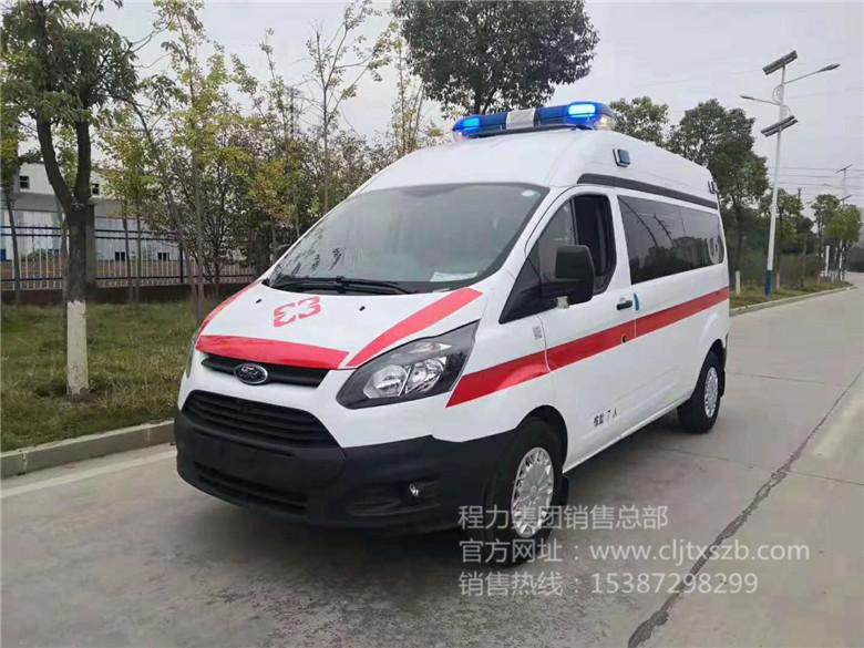 福特短轴救护车