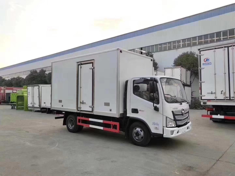國六福田歐馬可S1(窄體)冷藏車圖片