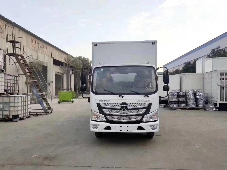 国六蓝牌福田欧马可S1冷藏车